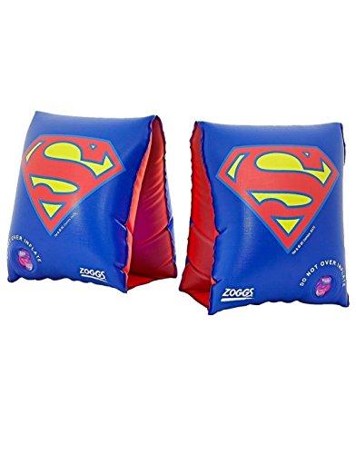 Zoggs Kinder Superman-Arm Bands Schwimmflügel, Blue, One Size