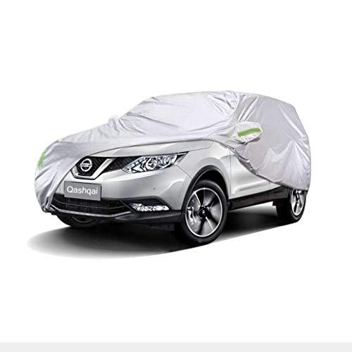 FJFSC Autoabdeckung Nissan Qashqai Autoabdeckung SUV Dickes Oxford-Tuch Sonnenschutz Regendicht Warme Abdeckung Autoabdeckung (Farbe : 2018)