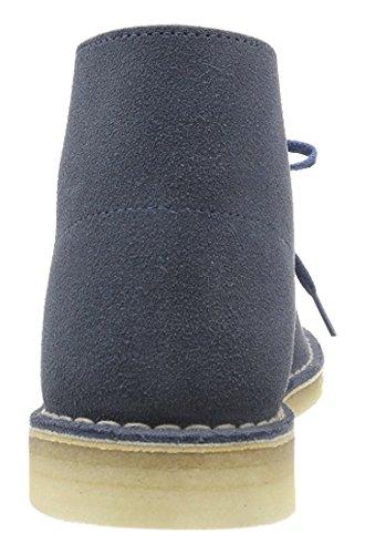 Clarks Originals - Desert Boot - Bottes - Homme Bleu (Denim)