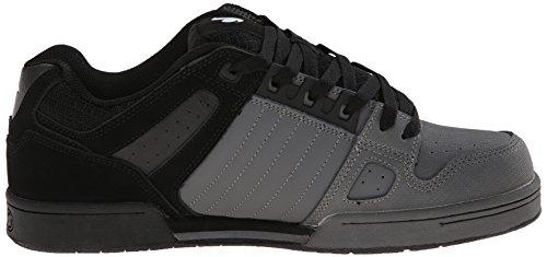 DVS Celsius, Chaussures de skateboard homme Gris (Grey Black Nubuck)