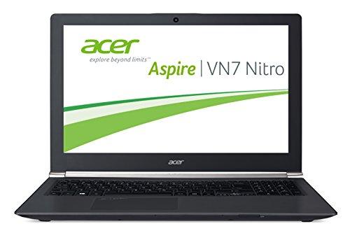 Acer Aspire VN7-591G-75TD Black Edition 39,6 cm (15,6 Ultra HD) Notebook-PC (Intel Core i7-4710HQ, 2,5GHz, 16GB RAM, 256GB SSD + 2000GB HDD, Nvidia GeForce GTX 860M, Win 8.1) schwarz