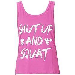 Camiseta de Entrenamiento de Mujer Fitness Yoga