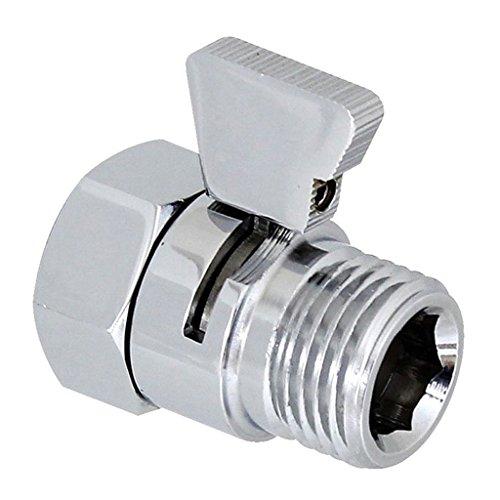 Sharplace Durchflussregelungsventil Duschkopf Shut-Off Ventil -