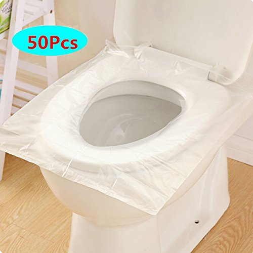 Fundas de papel para asiento de inodoro 50 piezas