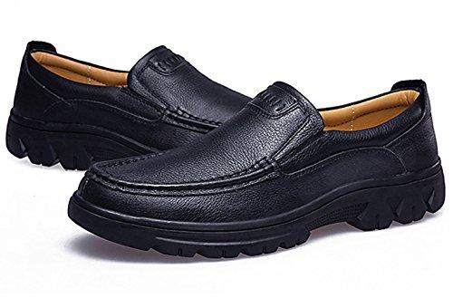 Mocassin oxford homme chaussure basses loisir soulier Noir