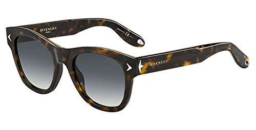 Givenchy gv 7010/s 9o 086, occhiali da sole unisex-adulto, marrone (dark havana/brown), 51