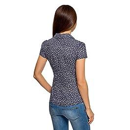 oodji Collection Donna Donna Camicia in Cotone Slim Fit