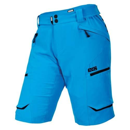 iXS Tema 6.1 Trail Shorts - fluor blue Größe L