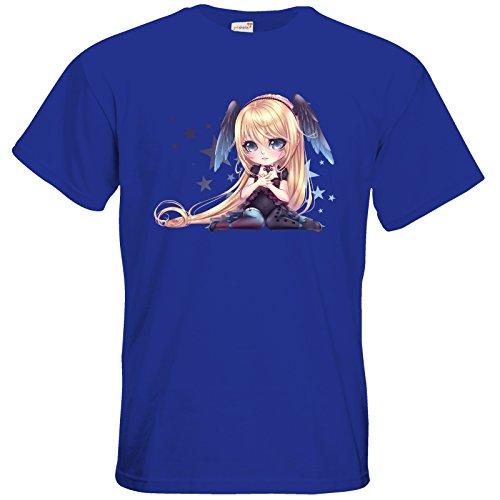 getshirts - Lukiyas Shop - T-Shirt - Motiv 5 Royal Blue