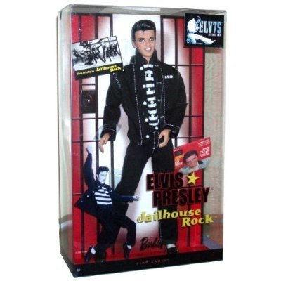 Mattel Year 2009 Barbie Collector 50th Anniversary Pink Label Series 12 Inch Doll   ELVIS PRESLEY in Jailhouse Rock (R4156) by Mattel