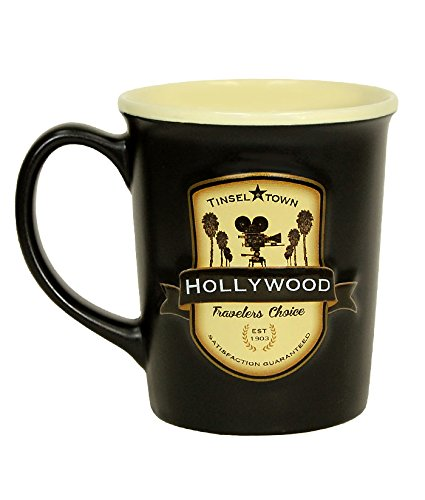 Americaware-City of Hollywood Souvenir Keramik Kaffee Tasse/Cup-510G