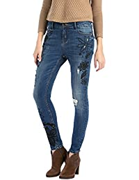Desigual DENIM_BIG BLACK - Jeans - Droit - Femme