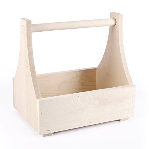 Cera & Toys® Flaschenträger aus Holz für 8-12 Bier