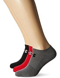 Under Armour Herren UA Charged Cotton 2.0 Noshow Socken, 6er Pack,