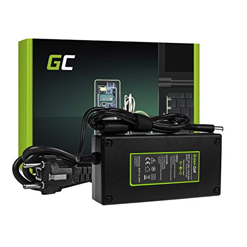 Green Cell® Netzteil für Dell Alienware 17 R1 R2 R3 R4 R5 M17 M17x R1 R2 R3 R4 R5 Precision M4600 M4700 M6400 M6500 M6600 M6700 Laptop Ladegerät inkl. Stromkabel (19.5V 10.8A 210W) Alienware M17x Laptop