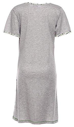 a287c4b7f6a8 Happy Mama Damen UmstandsNachthemd mit Stillfunktion Stillshirt ...