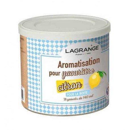 Lagrange - 380360 - Pot de 425g arome citron pour yaourtière