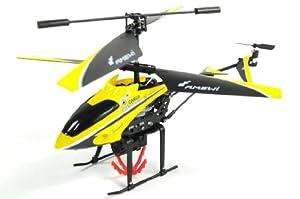 Amewi 25089 Firestorm Cargo - Helicóptero teledirigido (3 Canales, giroscopio, con cabrestante), tamaño pequeño