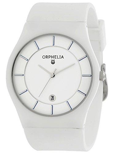 Orphelia - 66502 - Montre Homme - Quartz - Analogique - Bracelet Silicone Blanc