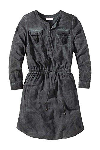 Sheego Damen-Kleid Kleid Grau Größe 40
