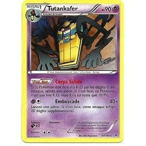 Carte Pokémon TUTANKAFER 47/101 NOIR & ET BLANC NOBLES VICTOIRES FR RARE NEUVE