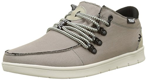 WAU Siroco, Baskets Basses Homme Gris (Grey)