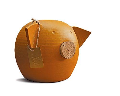 Golden Pigs Hucha Cerdito para Niños y Adultos - Alcancía de Barro