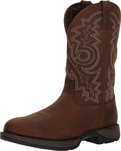 Durango Men's Rebel Waterproof Western Boot Round Toe - Ddb0163 - Rebel Cowboy-stiefel