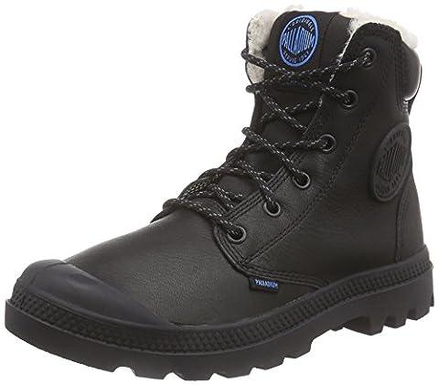 Palladium Pampa Sport Cuff Wps, Desert boots Mixte adulte - Noir (black 001), 44 EU