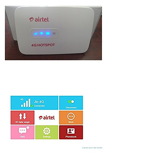 Airtel-4G-Wifi-Hotspot-Unlocked-Multi-Sim-Support-Latest-Any-Gsm-Network-2g3g4g-Simcards-usb-WiredWifiBatteryMainunitUsbcable
