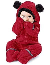 POIUDE Baby Jungen (0-24 Monate) Top, Einfarbig