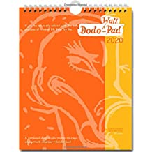 Dodo Wall Pad 2020 - Calendar Year Wall Hanging Week to View Calendar Organiser: A Family Diary-Doodle-Memo-Message-Engagement-Organiser with room for ... 5 people's appointments/activities (Dodo Pad)