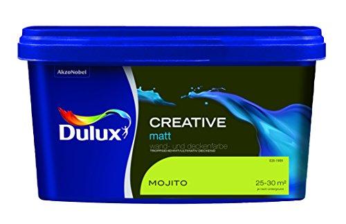 Dulux Creative Wand- und Deckenfarbe, Mojito Matt
