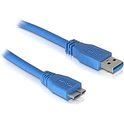 DeLock Cable USB 3.0 A > Micro USB 3.0 1m