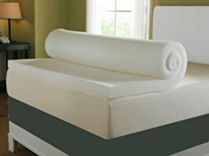 2FT6 3FT 4FT SMALL 4FT6 5FT AND 6FT MEMORY FOAM TOPPERS AVAILABLE IN 2'' 3'' AND 4'' (3'' 4FT6 DOUBLE MEMORY FOAM TOPPER) by bedzonline