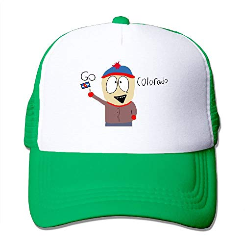 SHALLY South Park Co Classic Adjustable Mesh Trucker Hat Unisex Adult Baseball Cap