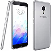 "FUNDA de GEL TPU FINA ""ULTRA-THIN"" 0,3mm TRANSPARENTE para MEIZU M3 NOTE"