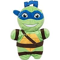 SAMBRO tmt-8258–1Teenage Mutant Tortugas Leonardo–Mochila de peluche