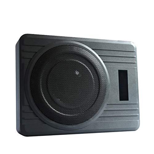 600w Powered Subwoofer Bass Remote, Auto Subwoofer Aktiv Übergewicht Audio Subwoofer Lautsprecher Modified High Power Lautsprecher Home 10inch 12V (Home Power Subwoofer)