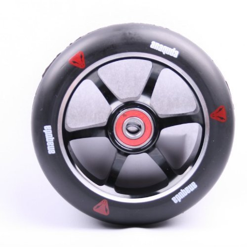Preisvergleich Produktbild Anaquda Scooter Wheel Spoked 110mm Black / Black