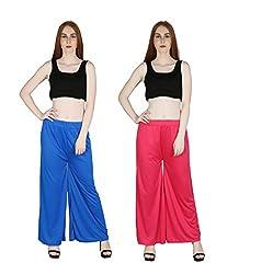 marami trouser blue pink