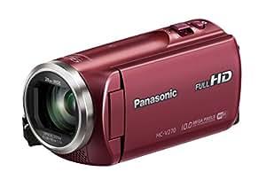 Panasonic HC-V270EG-R Camescopes Classique 1080 pixels Zoom Optique 50 x 2.51 Mpix