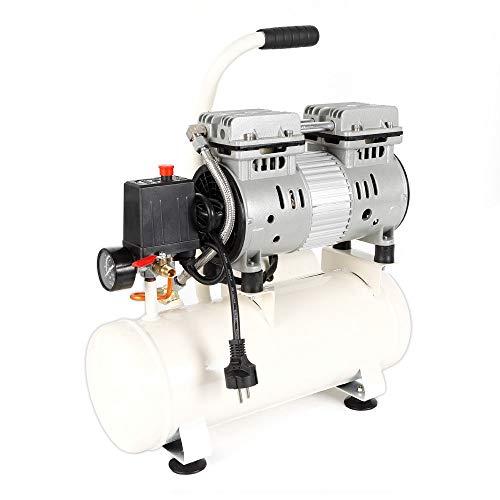 Compresor, taller de compresores de aire, móvil, 680W, motor de inducción, silencioso Aire comprimido...