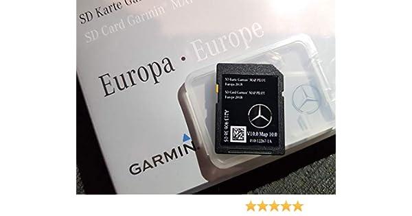 Mercedes GARMIN V10 EUROPE 2018-2019 SAT NAV MAP SD CARD A2139063605 (C  CLASS / E CLASS / V CLASS / X CLASS)