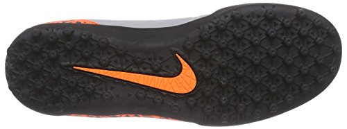 Nike Hypervenom Phelon Ii, Chaussures de football homme Gris - Grau (Wolf Grey/Total Orange-Blk-Blk 080)
