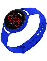 Lemumu 1230 Hombre Mujer Ver Deportes Multi - Función Deportes impermeable reloj Relojes electrónicos de 50