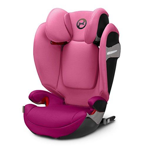 Cybex Gold Solution S-Fix, Autositz Gruppe 2/3 (15-36 kg), Kollektion 2018, Passion Pink, mit Isofix (ohne Isofix verwendbar)