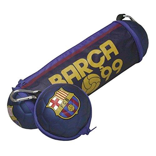 FC Barcelona pb-100-bc Offizielles Fußball faltbares Bleistift Fall mit Clip Befestigung