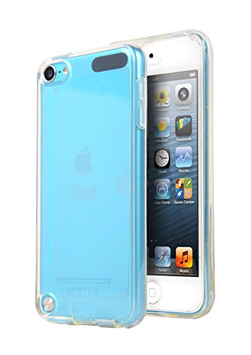 Ipod Touch 5 Case, E LV Apple Ipod Touch 6 Case Cover - Clear Soft Rubber Hybrid Armor Defender Protective Case Cover for Ipod Touch 5 / 6 - CLEAR