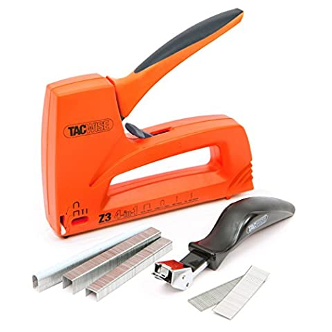 Tacwise Z3 4-IN-1 Staple/Nail Gun - Kit with Staples and Remover